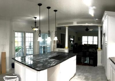 Starnes Electric LLC Electricians, task, pendant and recessed lighting in kitchen