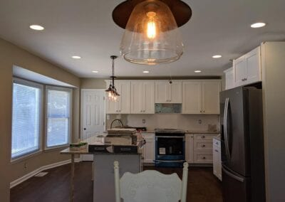 Starnes Electric LLC Electricians, beautiful lights in kitchen